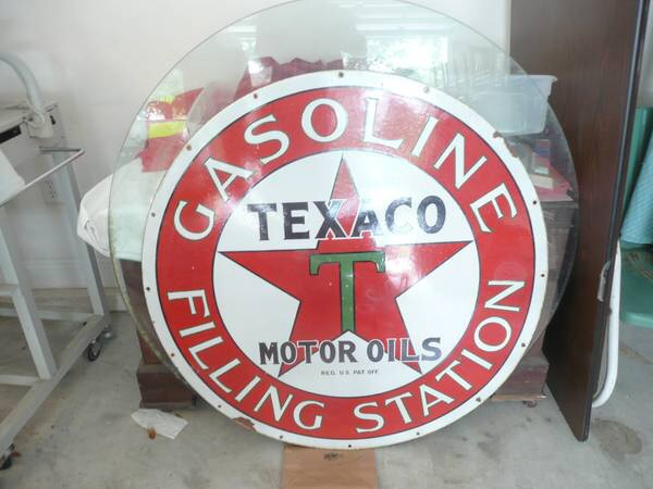 Texaco filling station sign, real or fake | Collectors Weekly