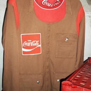 Delivery Driver Coat & Hat - Coca-Cola