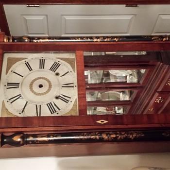 Chauncey Boardan and Joesph A. Wells clocks - Clocks