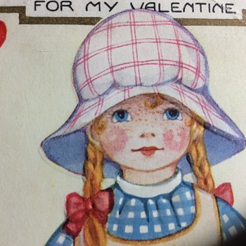 Strawberry shortcake ?  No trifling with me  - Postcards