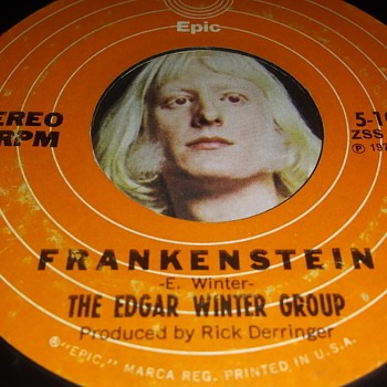 THE EDGAR WINTER GROUP - Records