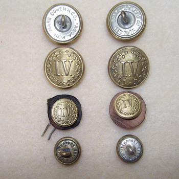 I.V. Brass Buttons - Military and Wartime