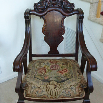 1oo year old arm chair - Furniture