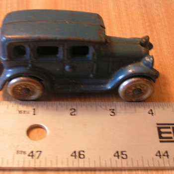 Cast Iron car? - Model Cars
