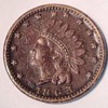 1863 Indianhead Civil War token
