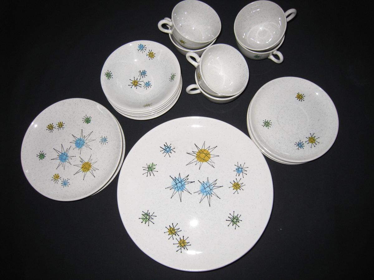 & Vintage Franciscan Starburst Dinnerware   Collectors Weekly