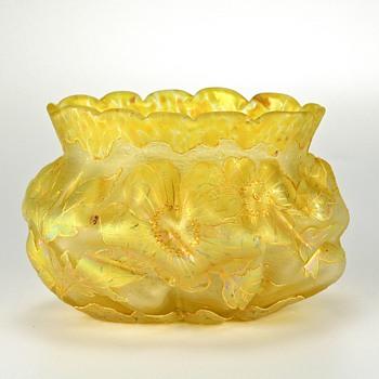 KRALIK Cameo circa 1900 - Art Glass