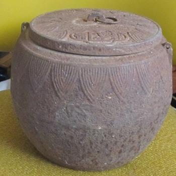 Asian Metal Pot  - Asian