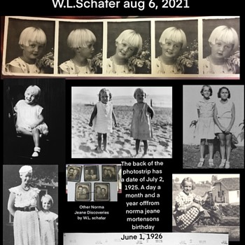 Photo Strip Discovery of Norma Jeane Mortenson - Photographs