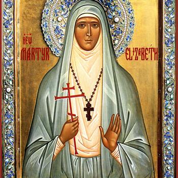 Icon of St. Grand Duchess Elizabeth. - Fine Art