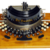 Franklin typewriter - 1892