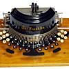 Franklin typewriter - 1892