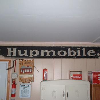Hupmobile Dealer sign - Signs