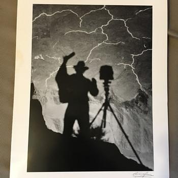 Ansel Adams Self Portrait Monument Valey - Fine Art