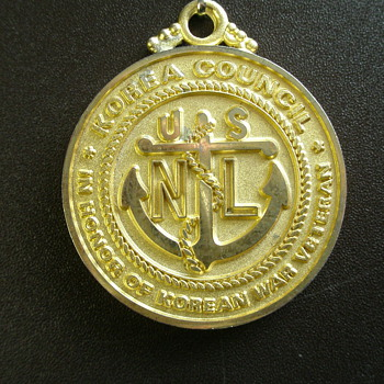 Korean War Council Medal - Military and Wartime