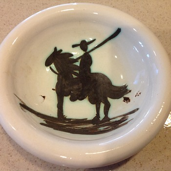 Picasso Ashtray - Picador - Tobacciana