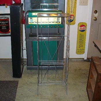 vintage kotex rack