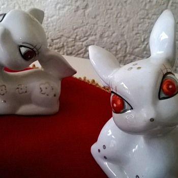 My 1950s Dime Store Chinese Deer Collection - Figurines