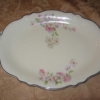 Homer Laughlin Virginia Rose Platter - China and Dinnerware