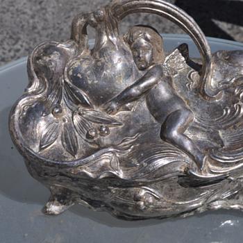 Art Nouveau Jewelry Box - Art Nouveau