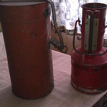 RARE!!! 1 gal. Gasoline pump testing measure!! Seraphin Mfg. Co. Phila,Pa. - Petroliana