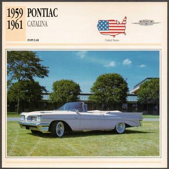Vintage Car Card - Pontiac Catalina - Classic Cars