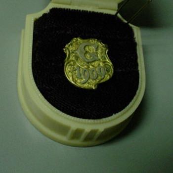 Dated Masonic Pin ~ Alaska/Yukon Expo?