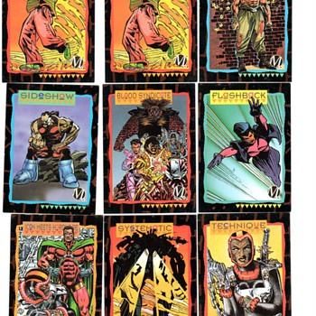 D C COMIC BOOKS CARDS