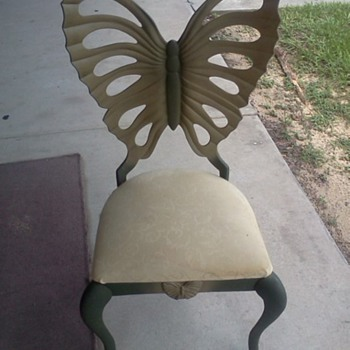 Beautiful Butterfly Shaped Chair - Furniture
