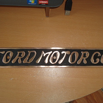 ford sign  - Signs