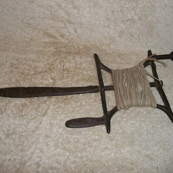 Early cast iron surveyors tool? - Tools and Hardware