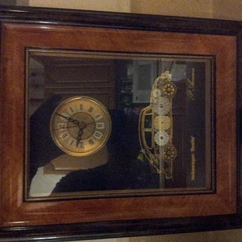 volkswagon beetle clock - Clocks