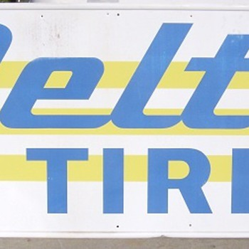 DELTA TIRE SIGN - HOW TO SHIP - Signs