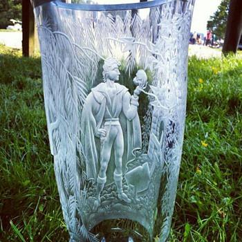 Exbor Hamlet vase - Art Glass