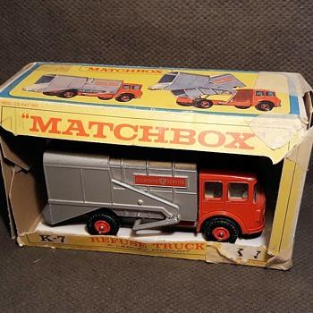 Muddy Mundane Municipal Matchbox Monday King Size K-7 Refuse Truck 1967-1968 - Model Cars