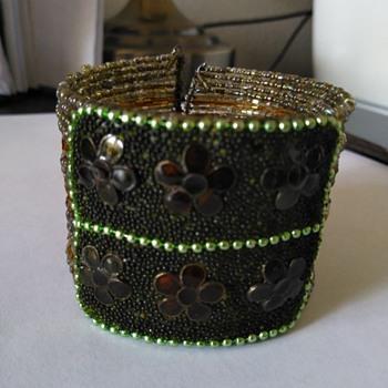 Wired seed head bracelet - Costume Jewelry