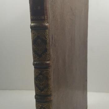 Etienne Souciet: Recueil Des Dissertations: Contenant Un Abrege De Chronologie (1726) - Bookplate of Graf Aloys von Harrach