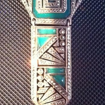 Art Deco Pin