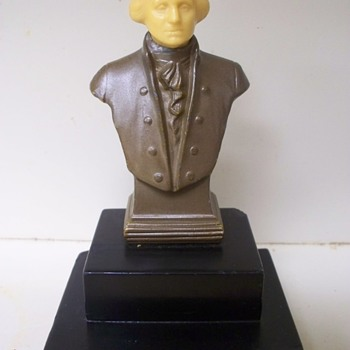 President George Washington Bust / Sculpure by J. Ruhl - Fine Art