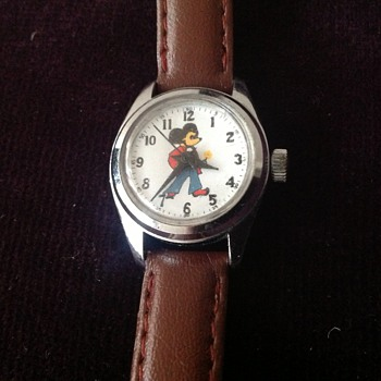 "Vintage 1970's Mickey Mouse ""Adorable Sales"" wristwatch. - Wristwatches"