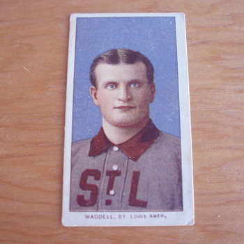 RUBE WADDELL 1909-1911 T206 BASEBALL TOBACCO CARD - Baseball
