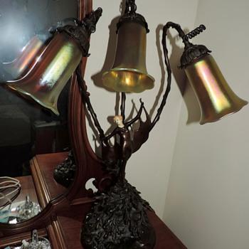 Art Nouveau/Art Deco Lamp