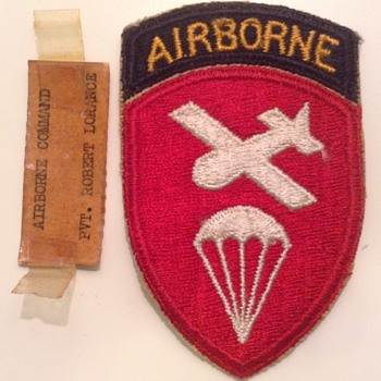 WW2 Army Airborne Command patch - Military and Wartime