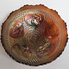 Carnival Glass Fenton Horse Medallion Bowl
