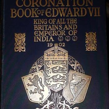 Coronation Book Of Edward VII 1902 - Politics