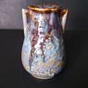 Japanese drip glaze vase