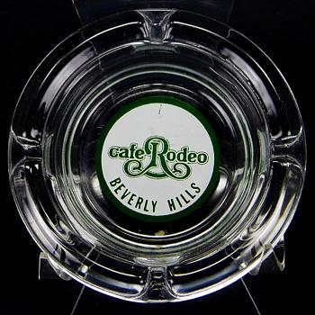 Rodeo Cafe Beverly Hills Ashtray - Tobacciana