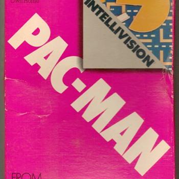 """1983 - """"PAC-MAN"""" Video Game Cartridge - Games"""