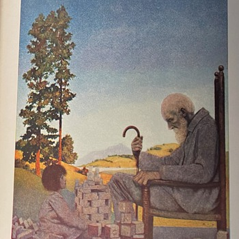 Poems of Childhood by Eugene Field with Illustrations by Maxfield Parrish - Pristine! - Fine Art