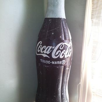 "42"" Styrofoam Display Bottle - Coca-Cola"